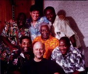 Jackie with Ronnie McDowell and The Drifters